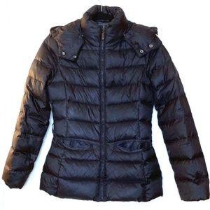 Goose Down Puff Short Parka - Benetton Jacket